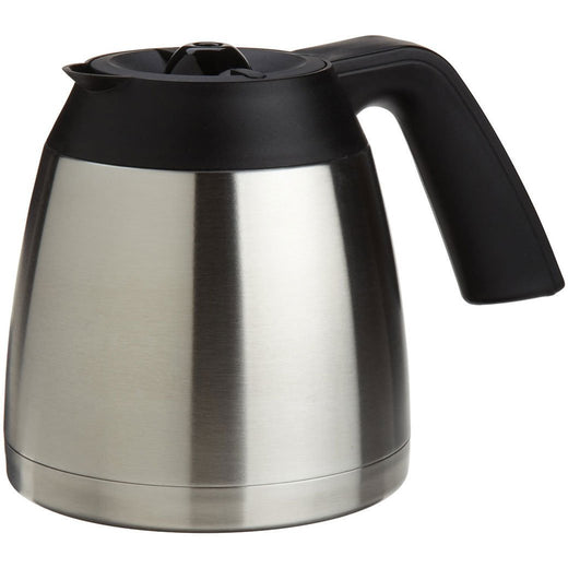 Capresso Machine Parts and Accessories Capresso Replacement 10 Cup Stainless Thermal Carafe for MT600 JL-Hufford