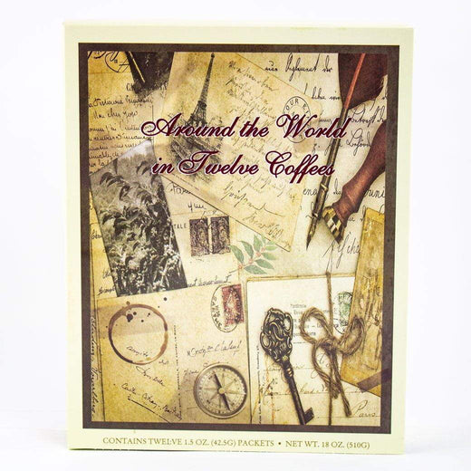 Coffee Masters Coffee Beans Around The World In Twelve Coffees Gift Book JL-Hufford