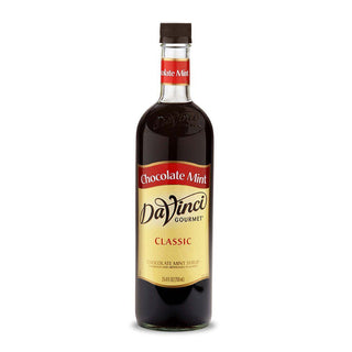 DaVinci Syrups and Sauces Chocolate Mint DaVinci Classic Syrups - 750 mL Glass Bottle JL-Hufford