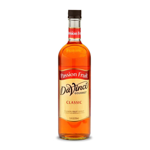 DaVinci Syrups and Sauces Passion Fruit DaVinci Classic Syrups - 750 mL Glass Bottle JL-Hufford