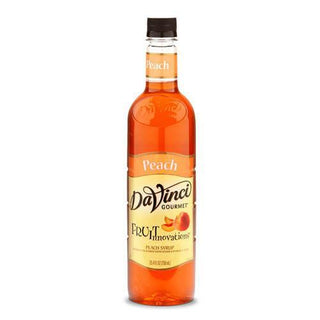 DaVinci Syrups and Sauces Peach DaVinci Fruit Innovations Syrups - Plastic Bottles JL-Hufford