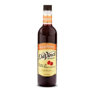 DaVinci Syrups and Sauces Raspberry DaVinci Fruit Innovations Syrups - Plastic Bottles JL-Hufford