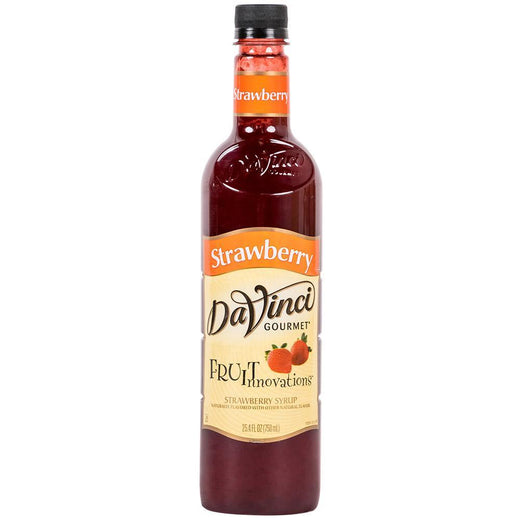 DaVinci Syrups and Sauces Strawberry DaVinci Fruit Innovations Syrups - Plastic Bottles JL-Hufford