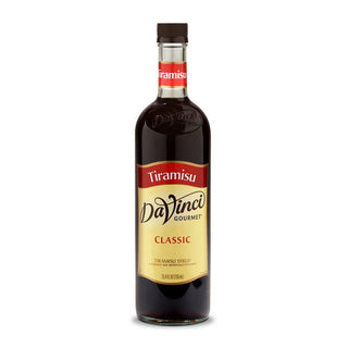 DaVinci Syrups and Sauces Tiramisu DaVinci Classic Syrups - 750 mL Glass Bottle JL-Hufford