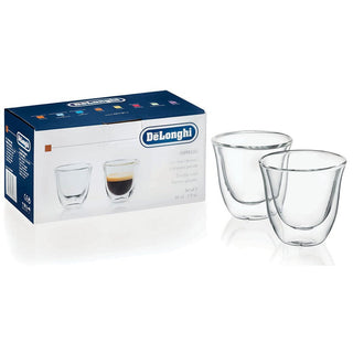 DeLonghi Double Walled Glassware DeLonghi Double Walled Thermo Espresso Glasses, Set of 2 JL-Hufford