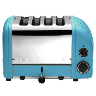 Dualit Toasters & Ovens Azure Blue Dualit New Generation 4-Slice Toaster in Fashion Colors JL-Hufford