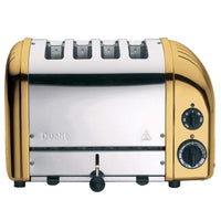 Dualit Toasters & Ovens Brass Dualit New Generation 4-Slice Toaster in Fashion Colors JL-Hufford