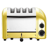 Dualit Toasters & Ovens Canary Yellow Dualit New Generation 4 Slice Toaster JL-Hufford