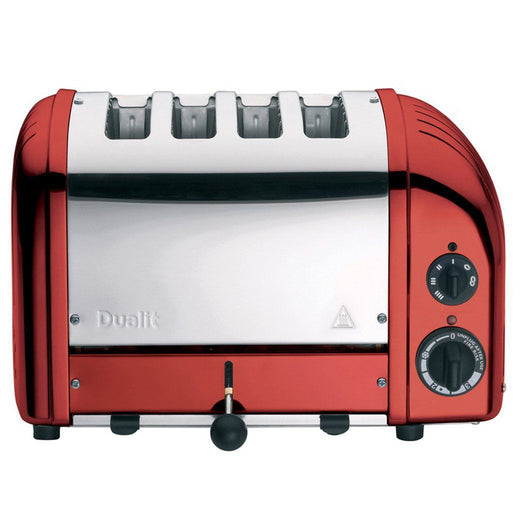 Dualit Toasters & Ovens Candy Apple Red Dualit New Generation 4-Slice Toaster in Fashion Colors JL-Hufford