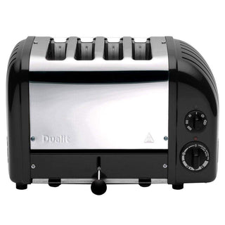 Dualit Toasters & Ovens Matte Black Dualit New Generation 4-Slice Toaster in Fashion Colors JL-Hufford