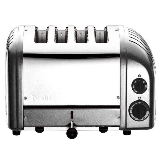 Dualit Toasters & Ovens Metallic Silver Dualit New Generation 4-Slice Toaster in Fashion Colors JL-Hufford