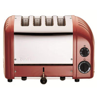 Dualit Toasters & Ovens Red Dualit New Generation 4 Slice Toaster JL-Hufford