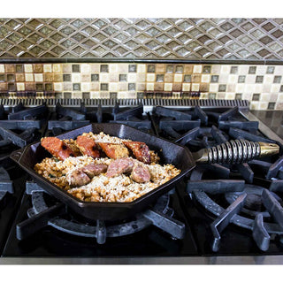 "FINEX Grill Pans & Griddles FINEX 10"" Cast Iron Grill Pan, Grillet JL-Hufford"