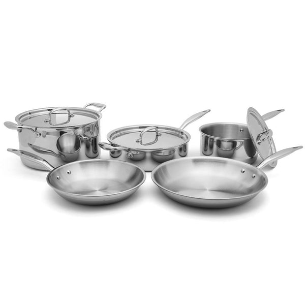 Heritage Steel 7 Ply Stainless Core Set 8 Piece J L