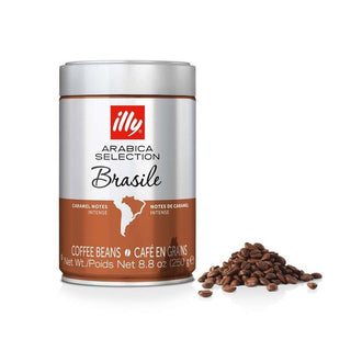 Illy Arabica Selection Coffee Beans 8.8 oz Can - Brazil