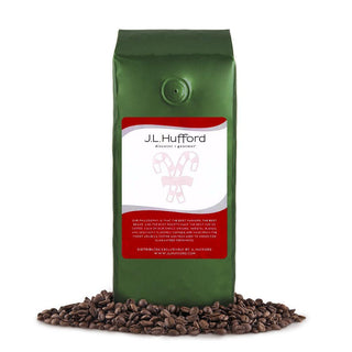 J.L. Hufford Coffee Beans 1 lb J.L. Hufford Peppermint Candy Cane Coffee JL-Hufford
