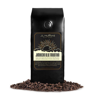 J.L. Hufford Coffee Beans J.L. Hufford Jamaican Blue Mountain Coffee - 12 Ounce Bag Whole Bean Coffee JL-Hufford