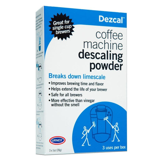 FREE Urnex Dezcal Coffee Machine Descaling Powder