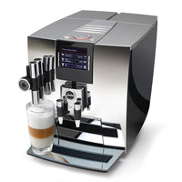 Jura Super Automatic Espresso Machines Factory Refurbished Jura Impressa J90 One Touch Espresso Machine - Chrome JL-Hufford
