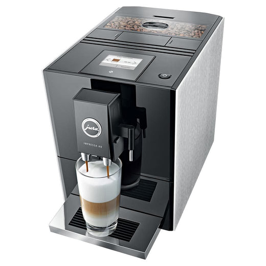 Jura Super Automatic Espresso Machines Jura A9 Slide and Touch Platinum Espresso Machine - Factory Refurbished JL-Hufford