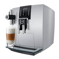 Jura Super Automatic Espresso Machines Jura J6 Automatic Coffee Center with P.E.P. - Brilliant Silver JL-Hufford