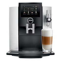 Jura+Super+Automatic+Espresso+Machines+Silver+Jura+S8+Automatic+Espresso+Machine+with+P.E.P.+JL-Hufford
