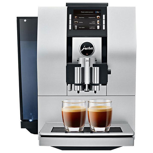 Jura Super Automatic Espresso Machines Silver Jura Z6 Automatic Coffee Center with P.E.P. - Factory Refurbished JL-Hufford