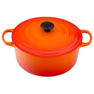 Le Creuset Dutch Ovens and Braisers Flame Le Creuset 5.5 qt Enameled Cast Iron Signature Round Dutch Oven JL-Hufford