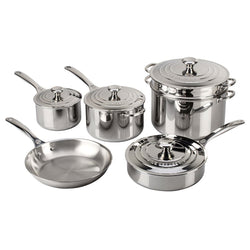 Le+Creuset+Cookware+Sets+Le+Creuset+10+Piece+Stainless+Steel+Cookware+Set+JL-Hufford