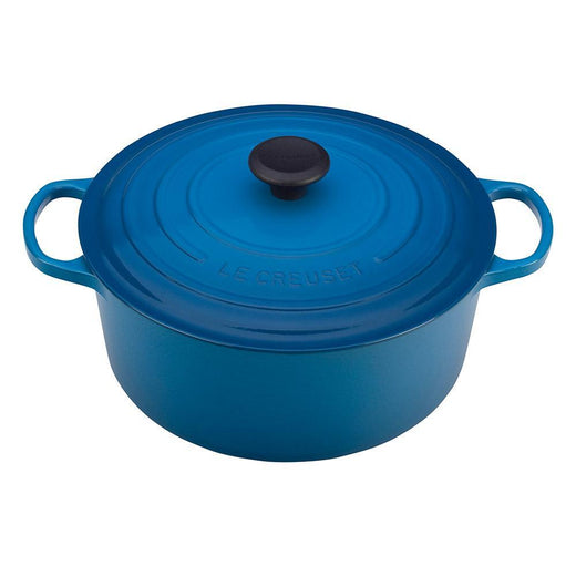 Le Creuset Dutch Ovens and Braisers Marseille Le Creuset 5.5 qt Enameled Cast Iron Signature Round Dutch Oven JL-Hufford