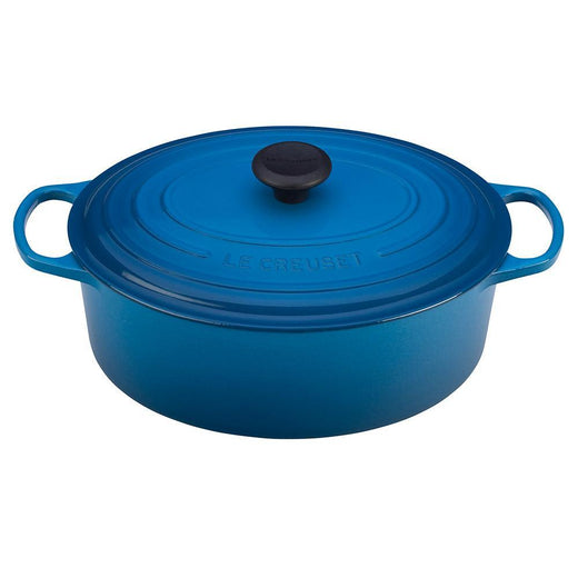 Le Creuset Dutch Ovens and Braisers Marseille Le Creuset 6.75 Qt. Enameled Cast Iron Signature Oval Dutch Oven JL-Hufford