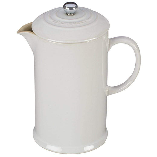 Le Creuset French Presses White Le Creuset Cafe Collection 27 oz. French Press JL-Hufford