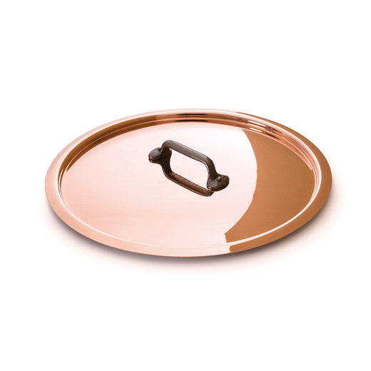 "Mauviel Cookware Lids 4.8"" Mauviel M'250c Copper and Stainless Steel Lid JL-Hufford"
