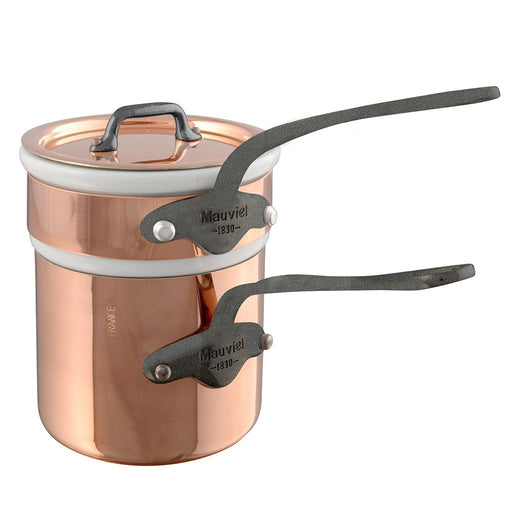 Mauviel Steamers & Double Boilers Mauviel M'150c Copper Double Boiler - 0.9qt JL-Hufford