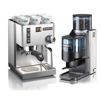 Rancilio Pump Espresso Machines Doser / No Base Rancilio Silvia and Rocky Bar Combo JL-Hufford