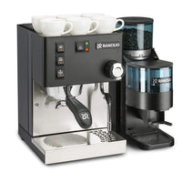Rancilio Pump Espresso Machines Doser / Without Base Rancilio Silvia M V5 and Rocky Bar Combo - Limited Edition Black JL-Hufford