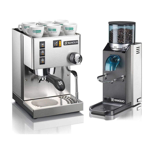 Rancilio Pump Espresso Machines Doserless / No Base Rancilio Silvia and Rocky Bar Combo JL-Hufford