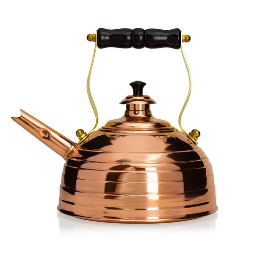 Richmond Kettle Company Stovetop Tea Kettles Richmond Beehive Copper Whistling Tea Kettle - No. 8 JL-Hufford