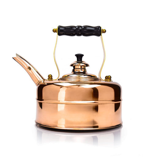 Richmond Kettle Company Stovetop Tea Kettles Richmond Induction Copper Whistling Tea Kettle - No. 7 JL-Hufford