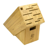 Shun Knife Blocks & Storage Shun 11-Slot Bamboo Knife Block JL-Hufford