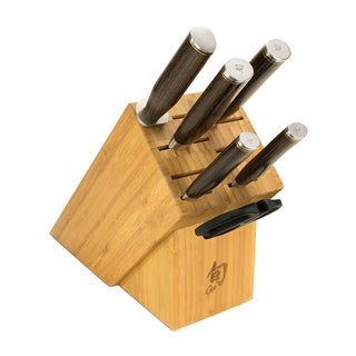 Shun Knife Sets Shun Premier 7 Piece Knife Essential Block Set JL-Hufford