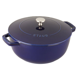 Staub Dutch Ovens and Braisers Dark Blue Staub Cast Iron 3.75-qt Essential French Oven JL-Hufford