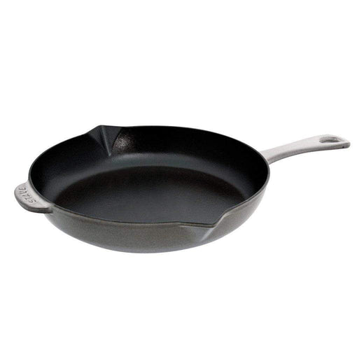 "Staub Skillets & Frying Pans Graphite Grey Staub Cast Iron 10"" Fry Pan JL-Hufford"