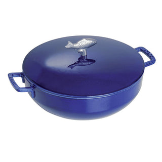 Staub Dutch Ovens and Braisers Staub Cast Iron 5-qt Bouillabaisse Pot - Dark Blue JL-Hufford