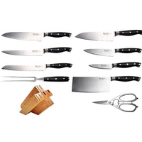 Swiss Diamond Knife Sets Swiss Diamond 10 Pc. Knife Block Set JL-Hufford