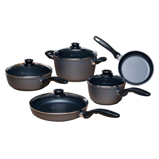 Swiss Diamond Cookware Sets Swiss Diamond HD 9 Piece Cookware Set JL-Hufford