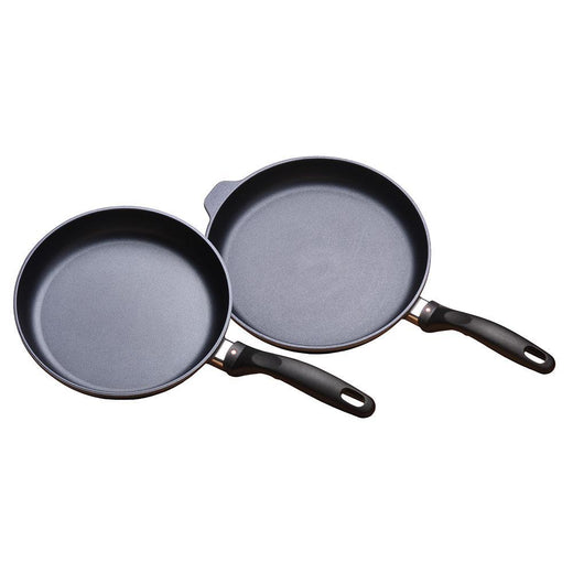 "Swiss Diamond Skillets & Frying Pans Swiss Diamond Induction 2 pc. set - Fry Pan Duo - 9.5"" and 11"" JL-Hufford"