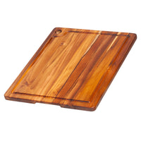 "TeakHaus Cutting Boards Proteak Cutting Board with Juice Canal, 18"" x 14"" x 0.75"" JL-Hufford"