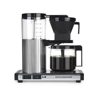 Technivorm Drip Coffee Makers Technivorm Moccamaster CDG Coffee Brewer - Polished Silver JL-Hufford