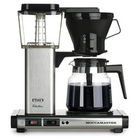 Technivorm Drip Coffee Makers Technivorm Moccamaster KB 741 Coffee Brewer - Brushed Silver JL-Hufford